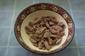 "Салат ""Узбекистан"" - фото шаг 1"