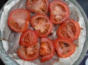 Говядина, запеченная в духовке с сыром и помидорами - фото шаг 3