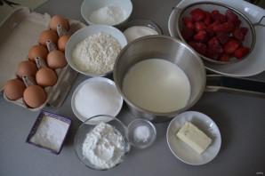 Тирольский пирог с клубникой - фото шаг 1
