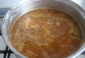 Вегетарианский суп харчо - фото шаг 10