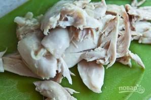 Столичный салат с курицей - фото шаг 2