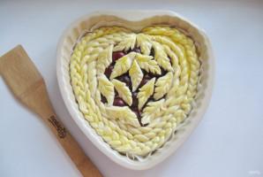 Дрожжевой пирог со сливами - фото шаг 14