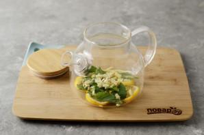 Согревающий чай с имбирем - фото шаг 3