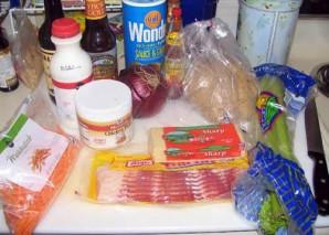 Итальянский суп в хлебе - фото шаг 1