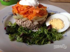 Салат из печени и моркови - фото шаг 6