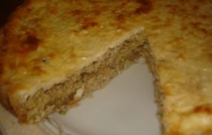 Пирог с мясом без дрожжей - фото шаг 5