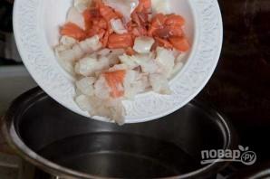 Простая рыбная солянка - фото шаг 6