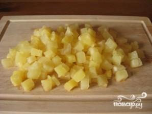 Кисло-сладкий соус с ананасами - фото шаг 2