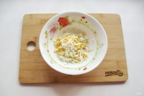 Салат с зеленым горошком и морковью - фото шаг 2