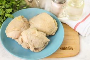 Куриный паштет с орехами - фото шаг 3
