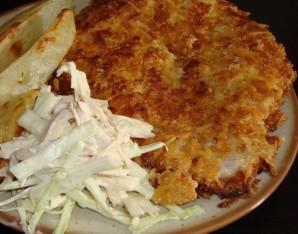 Мясо в сырной панировке - фото шаг 6