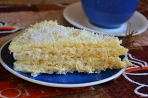 Вафельный торт - фото шаг 7
