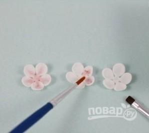 Сахарные цветы - фото шаг 6