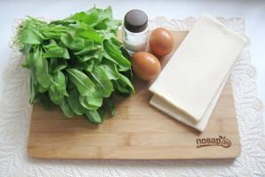 Пирог со щавелем и яйцом - фото шаг 1