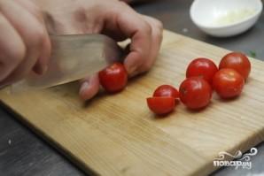 Спагетти с помидорами черри - фото шаг 2