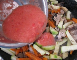 Соте из курицы с грибами - фото шаг 5