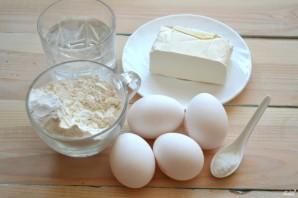 Заварное тесто без дрожжей - фото шаг 1