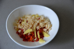 Кальмары в чесночном соусе  - фото шаг 10