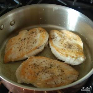 Курица с овощами в цитрусовом соусе - фото шаг 4