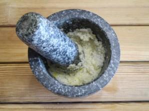 Адыгейская чесночная соль - фото шаг 5