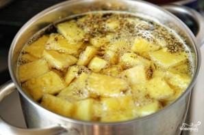 Жареный банан и вареный ананас - фото шаг 4