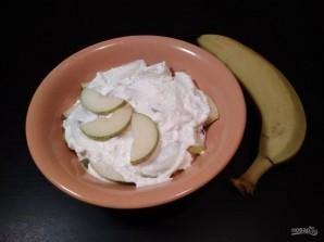Десерт из творога и фруктов - фото шаг 7