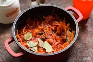 Салат из лука и моркови на зиму - фото шаг 5