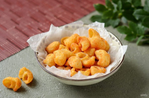 Чипсы из макарон