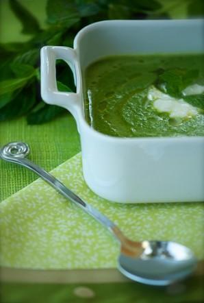 Суп из зеленого горошка с мятой - фото шаг 6