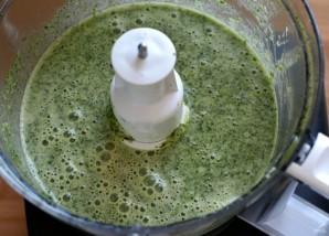 Зеленый рулет на белках - фото шаг 2