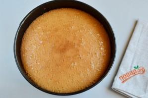 Праздничный торт с творожным кремом - фото шаг 5