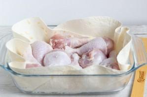 Куриные голени в сметанно-горчичном соусе - фото шаг 3