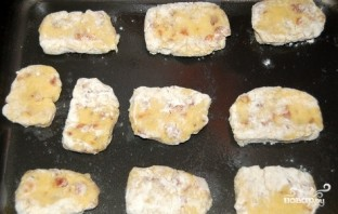 Песочное печенье с курагой - фото шаг 5
