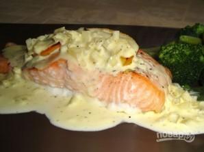 Сливочный соус для лосося - фото шаг 6