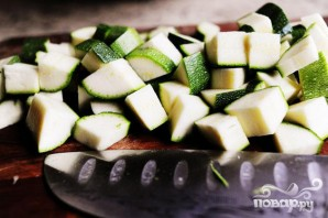 Паста салат с помидорами, цукини, и сыром Фета - фото шаг 5