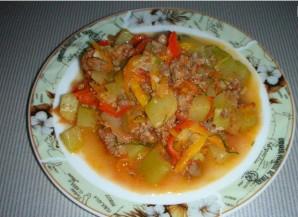 Рагу из кабачков с фаршем - фото шаг 4