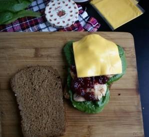 Сэндвич с индейкой - фото шаг 2