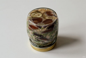 Баклажаны с грецкими орехами на зиму - фото шаг 7