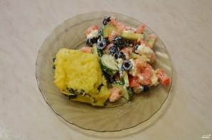 Картофельная запеканка со шпинатом - фото шаг 15
