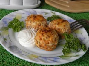 Тефтели с гречкой в духовке - фото шаг 6