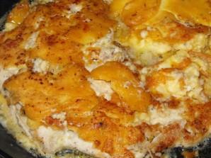 Курица в кляре на сковороде - фото шаг 7