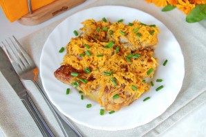 Курица под морковью (в мультиварке) - фото шаг 9