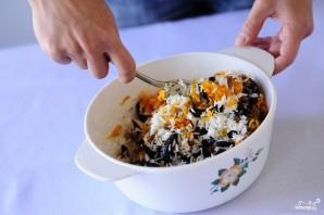 Морковь тушеная с рисом и черносливом - фото шаг 4
