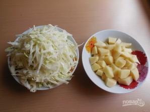 Борщ с фасолью и мясом - фото шаг 7