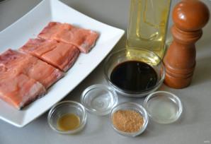 Филе лосося в бальзамической глазури - фото шаг 1