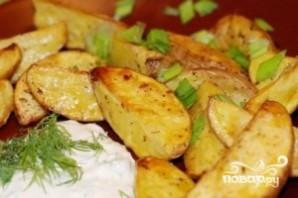 Картофель с зеленью - фото шаг 5