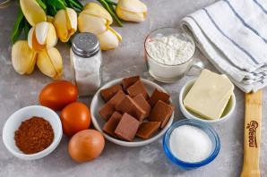Шоколадный фондан Гордона Рамзи - фото шаг 1
