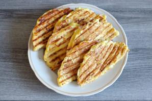 Чебуреки из кабачков с ветчиной и сыром - фото шаг 10