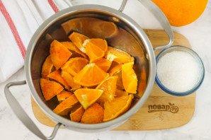Компот из апельсина и лимона - фото шаг 2