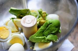 Яичная паста для бутербродов - фото шаг 2